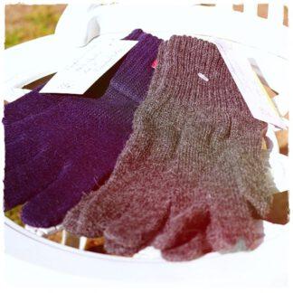 Handschuhe Alpakawolle